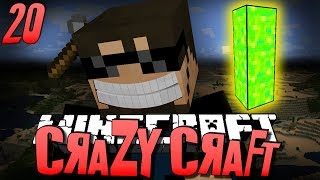 Minecraft CRAZY CRAFT 20 Getting Stronger W/ Poppets