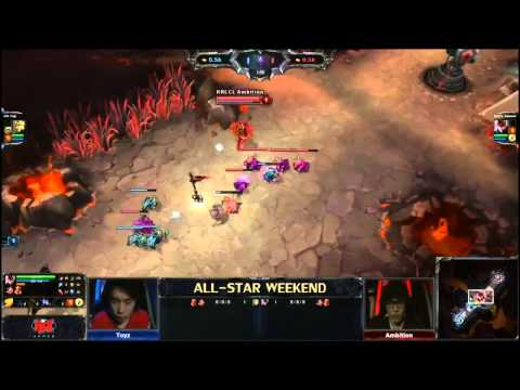 Toyz vs. Ambition - All Stars Mid Laners matchup - League of Legends