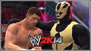 WWE 2K14 Get Goldust On The Game! Rhodes Brothers!