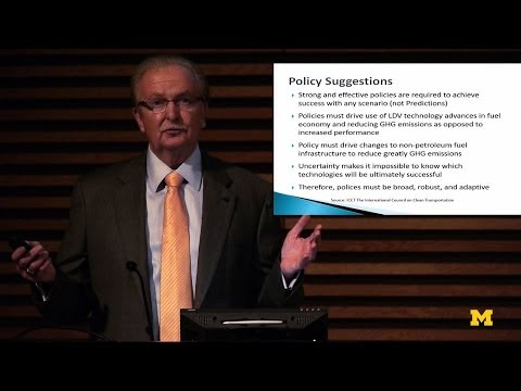 Gary L. Cowger -Energy Institute Fall Symposium | MconneX | Lectures on Demand on YouTube