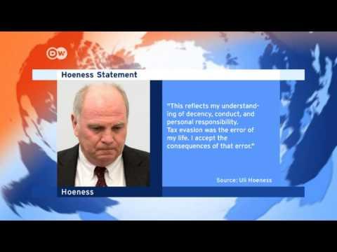 Bayern boss Hoeness accepts jail sentence   Journal