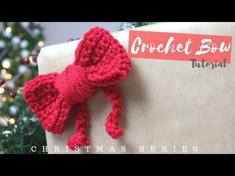 CHRISTMAS SERIES: Crochet bow | Bella Coco