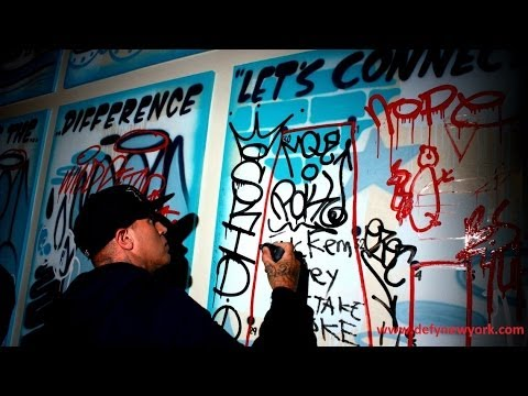 Sixty Hotels x Smart Crew x Animal New York Presents: Artists In Occupation Graffiti 2014