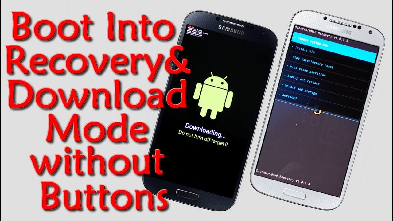 how to get into galaxy s3 without factory reset