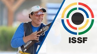 Finals Skeet Women - 2015 ISSF Shotgun World Cup in Larnaca (CYP) - Duration: 46:44.