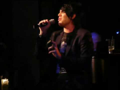 Adam Lambert at Upright Cabaret:  I Cant Make You Love Me