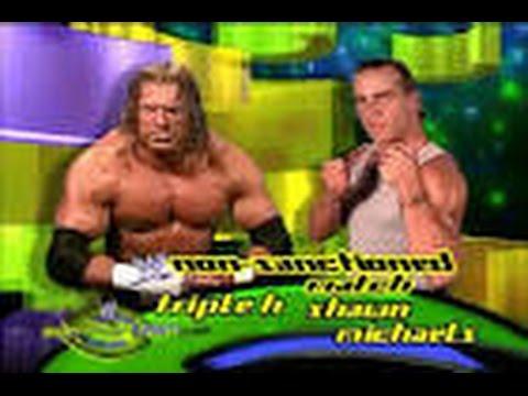 WWE SummerSlam 2002: Triple H vs Shawn Michaels (FULL MATCH)