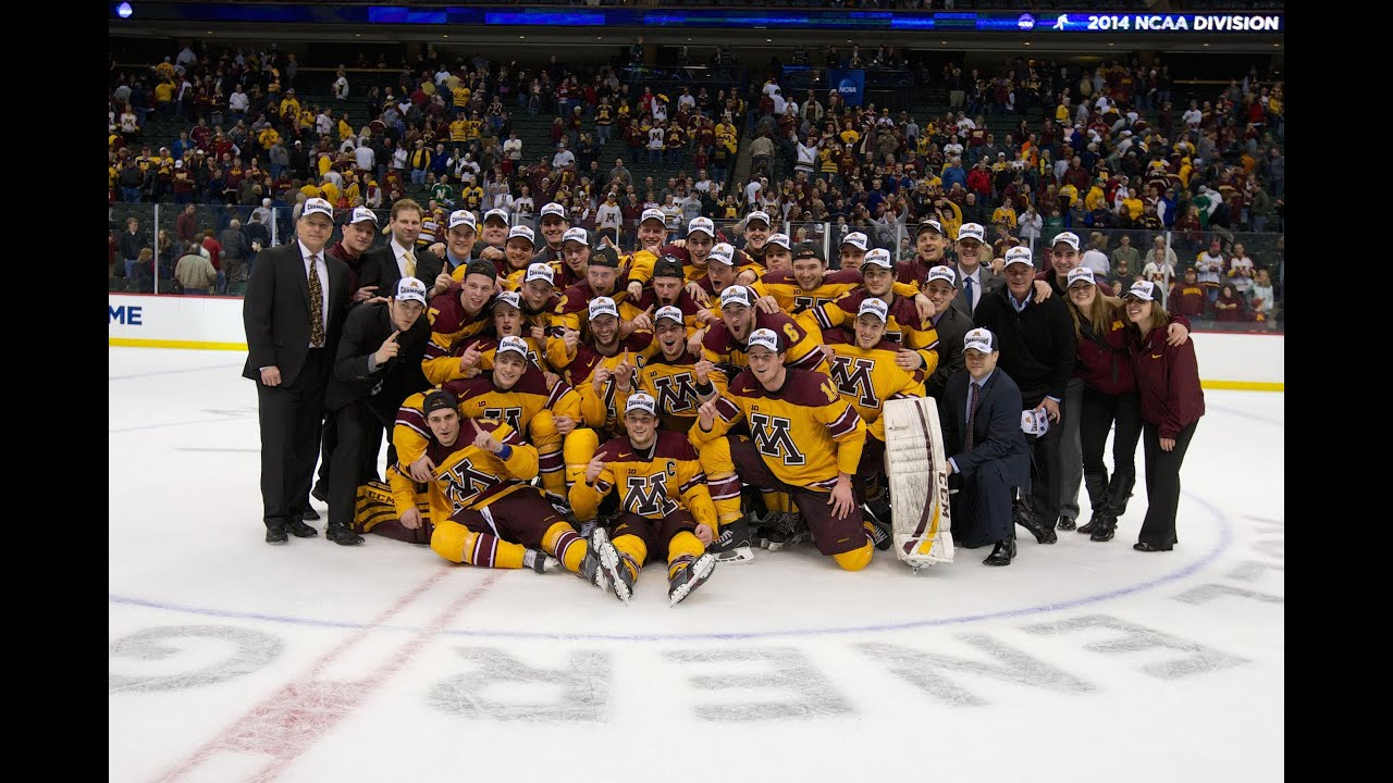 BIG10: Gophers Hockey 2014-2015 Schedule Released, Season Opens At Notre Dame Against UMD & Irish