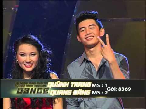 So You Think You Can Dance-Thử Thách Cùng Bước Nhảy-CK8 Quang Đăng Quỳnh Trang ĐĐ