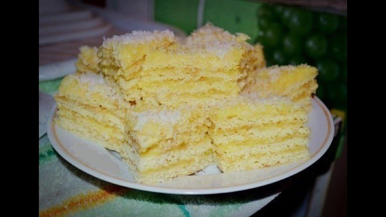 Творожный торт рафаэлло пошаговый рецепт