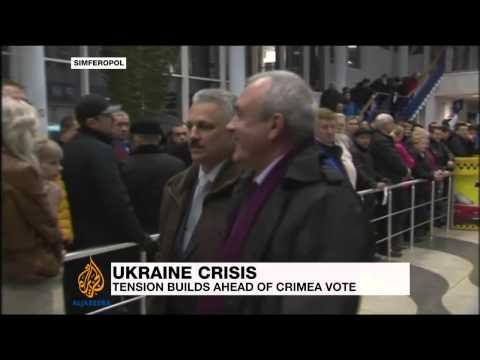 Crimea prepares to vote amid deadly showdown