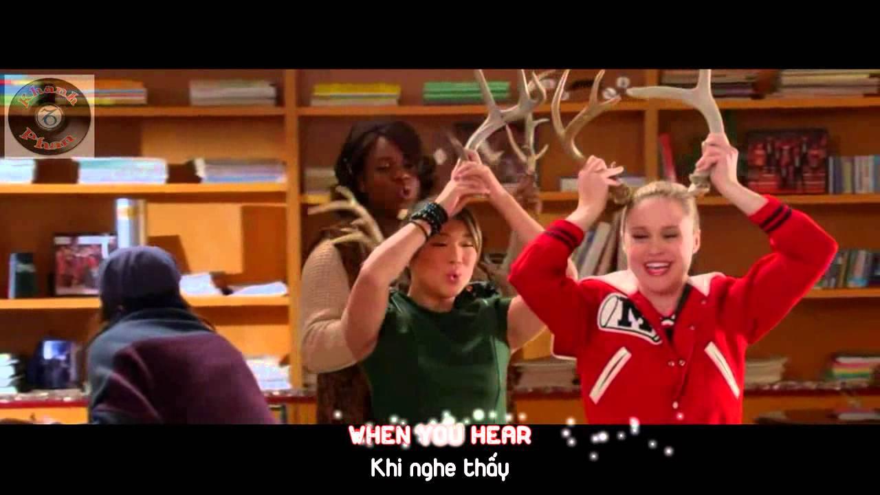 "Lyrics+Vietsub GLEE - Full Performance of ""Rockin' Around The Christmas Tree"" - YouTube"