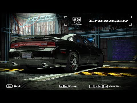 [nfsmw]2012 Dodge Charger Srt8