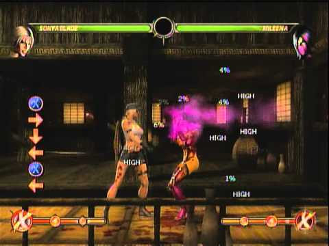 Sonya Blade MK9 Combo Video. Up to 51% No meter, midscreen.