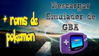 Descargar Emulador De GBA (Gameboy Advance) 2014