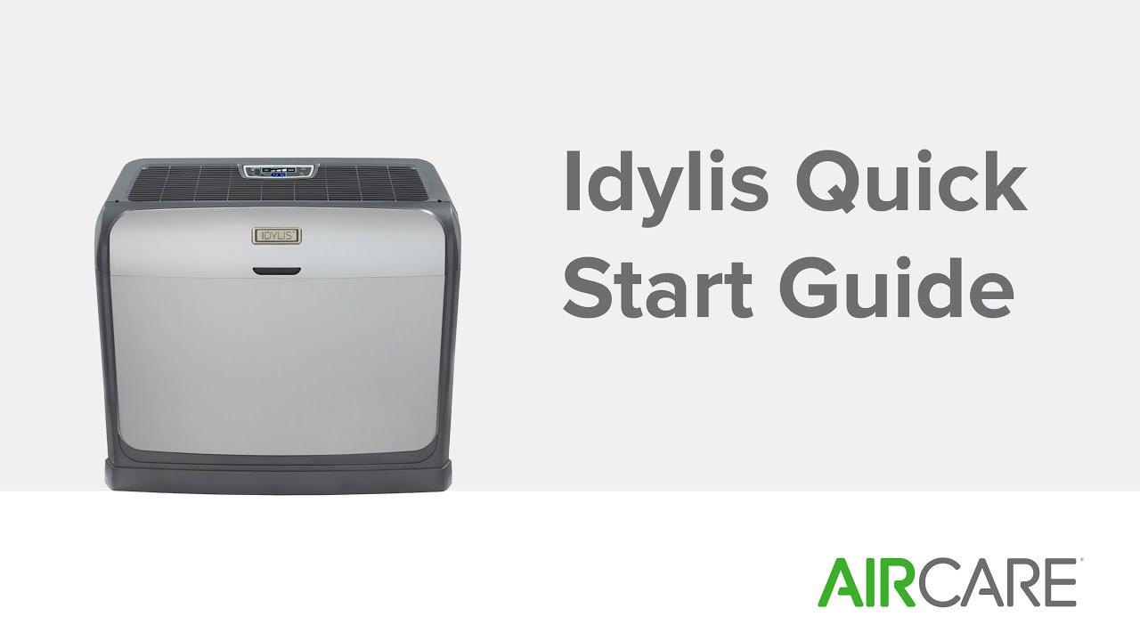Idylis Quick Start Guide Youtube