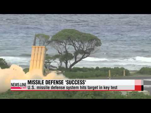 U.S. missile defense system hits target in key test