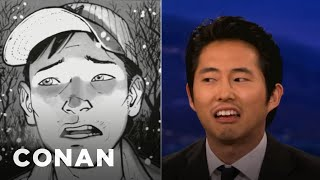 Forever Alone: Steven Yeun Has His Comic Books to Keep Him Warm