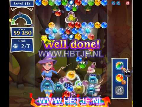 Bubble Witch Saga 2 level 118