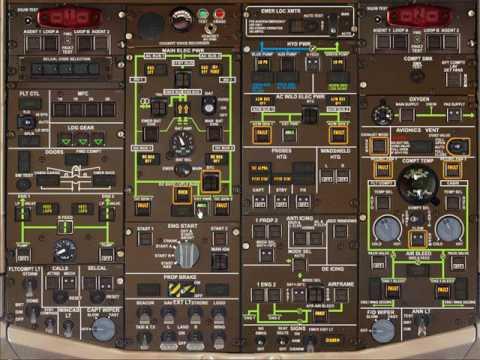 TUTORIAL Como acionar os motores do Atr72 da F1