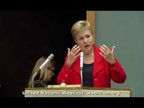 EU Commissionner for Humanitarian Aid and Civil Protection K. Georgieva on Syrian refugee crisis