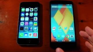 Google Nexus 5 Vs. Apple IPhone 5S Performance
