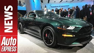 Ford Bullitt Mustang GT celebrates 50th anniversary of Steve McQueen blockbuster. Auto Express.