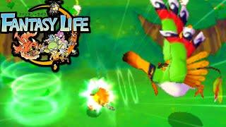 Fantasy Life 3DS: Ninja VS Monster Bird Bigbeak! Mercenary