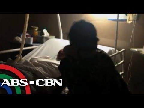 Filipina rape victim reunited with mom