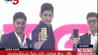 Mahesh Babu as Intex Brand Ambassador, Unveils Intex Acqua Trend