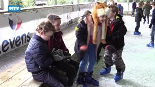 Moergestel Sportief: De Bienekebolders schaatst - 840 2017