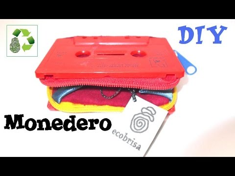 61. RECICLAJE DE CASSETTE (MONEDERO) -DIY CASSETTE COIN PURSE