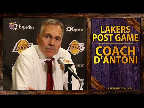 Lakers Vs.Clippers: Coach D'Antoni Says,