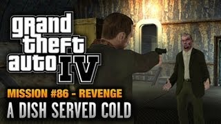 GTA 4 Mission #86 A Dish Served Cold [Revenge] (1080p