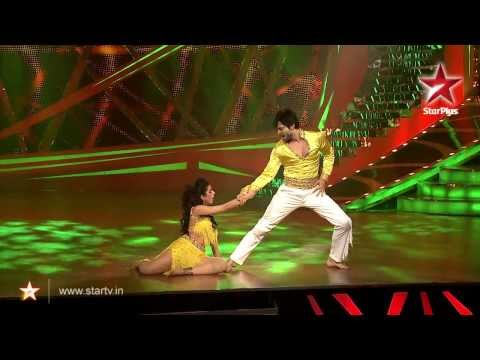RaQesh Ridhi perform on Chokra Jawaan 21st Dec'13 - Nach Baliye 6