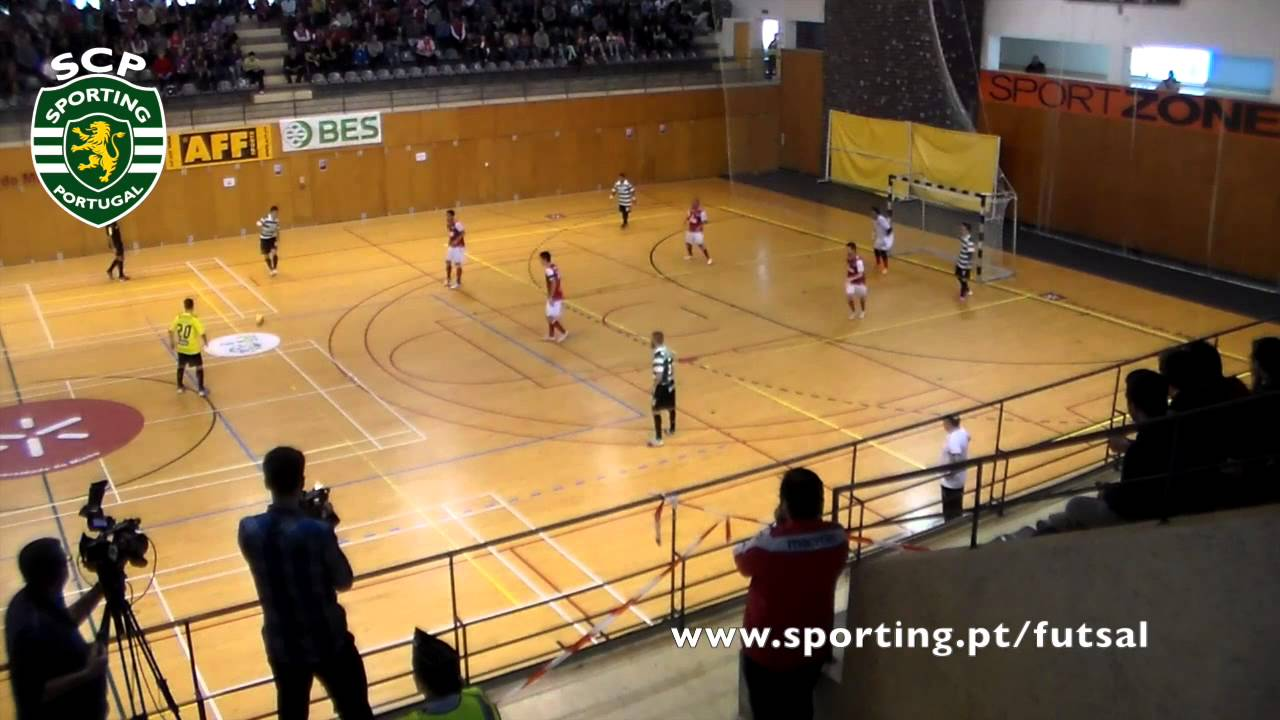 Futsal :: Play-off MF 1º Jogo :: Braga - 4 x Sporting - 4 (Ap) (2-4 GP) de 2013/2014