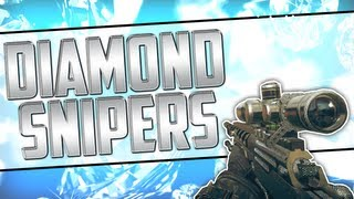 Black Ops 2 DIAMOND CAMO Snipers Diamond Sniper Camos