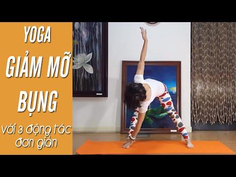YOGA giảm mỡ bụng - Chỉ với 3 động tác đơn giản (Yoga For Weight Loss)