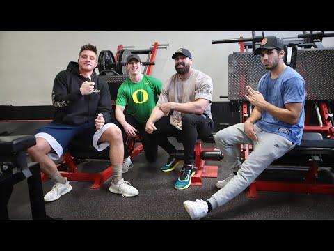 NELK boys and Steve will do it killing legs   full send fitness.