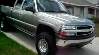 2001 Chevy Silverado 1500 extended cab 4x4 lifted f/t 5800 videos