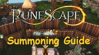 1-99 Summoning Training Guide [Runescape 2014]