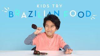 Kids Try Brazilian Food | Kids Try | HiHo Kids