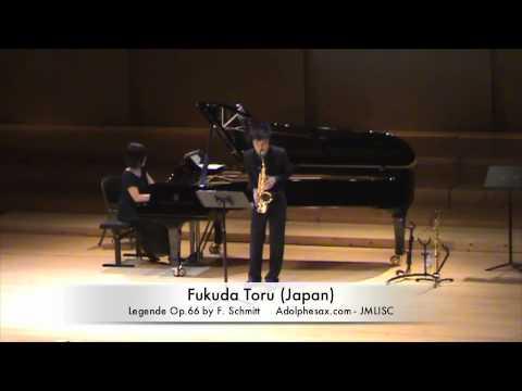 3rd JMLISC Fukuda Toru (Japan) Legende Op.66 by F. Schmitt