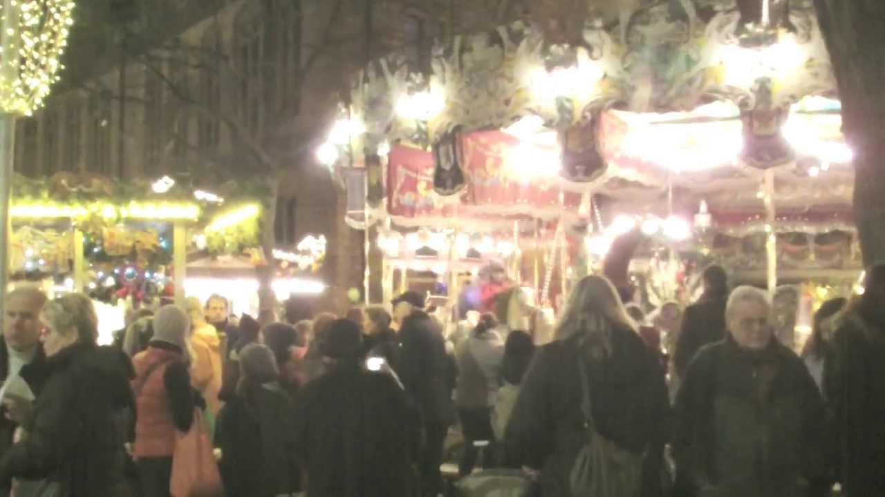 Празднование Рождества в Германии (г. Ганновер).