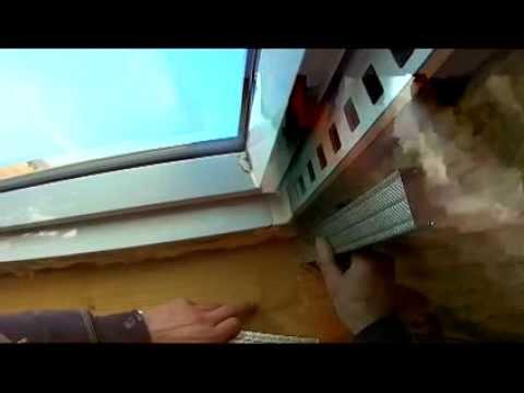 Zabudowa okna połaciowego cz.1 węgarki