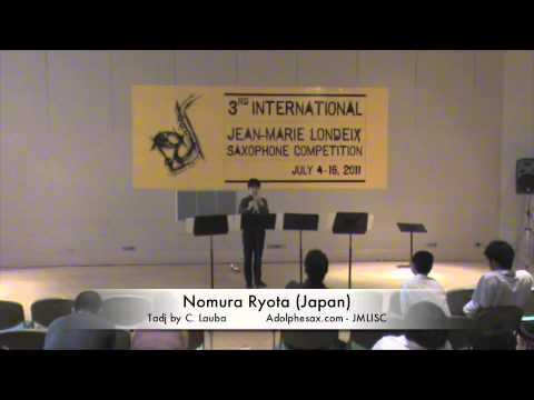 3rd JMLISC: Nomura Ryota (Japan) Tadj C. Lauba