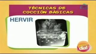 Hervir y freir, técnicas de cocción básicas