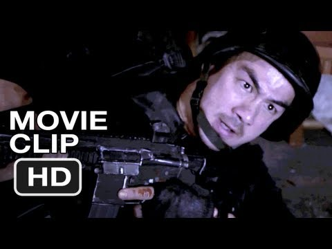 The Raid Redemption #2 Movie CLIP - Through the Floor (2012) HD