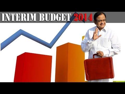 P Chidambaram's interim budget 2014