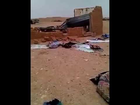 صرخة مغربية محتجزة بتنذوف+ فيديو